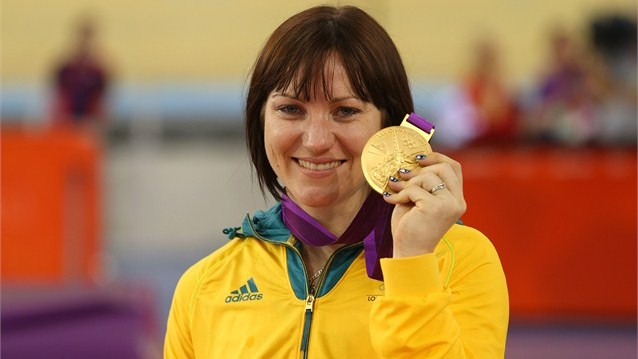 Anna Meares - Gold Medal Sprint Track Cycling