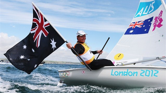 Tom Slingsby - Gold Medal Sailing